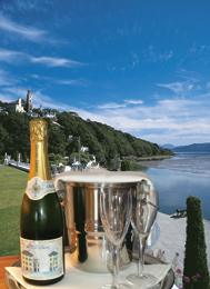 Champagne Breaks at Portmeirion